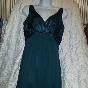 Hunter Green Cocktail Dress